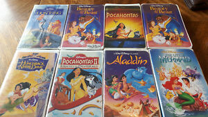 Some Disney vhs movies