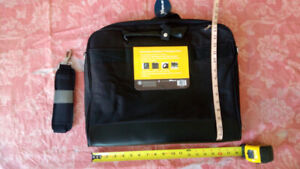 """Computer notebook carrying bag, black color, fit 17"""""""