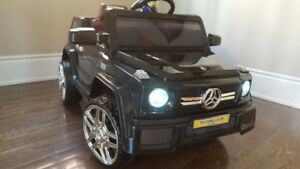 Ride-On Merc-G, Lambo, BMW, Mustang, MiniCooper, Trike, 12V, RC