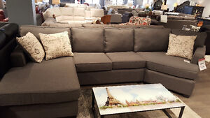 BRAND NEW CANADIAN MAKE SECTIONALS!!