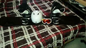 Snowboard + Gear