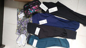Lululemon New and EUC crops and top