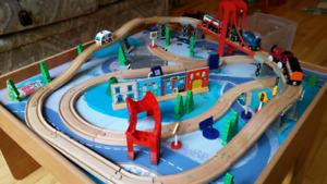 Kids train truck