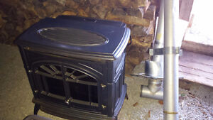 Wood Pellet Stove & Stove Pipes
