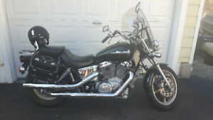 Honda Shadow street bike