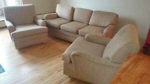 Sofa and Matching Chairs