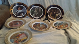Collectible Porcelain Plates. Made in England!  Only $80/obo!!