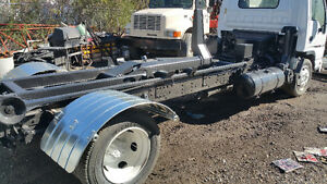 GMC W5500 HD With MultiLift XR5 Hooklift System and Roll-Off Bin