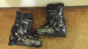 Size 11 (29,5) skiing boots Prince George British Columbia image 3