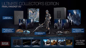 Final Fantasy XV Ultimate Edition PS4 (Available Nov 29)