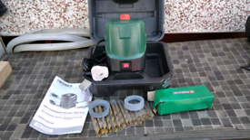 Electric sharpener for drill bits