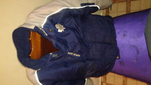 MENS MAPLE LEAFS WINTER COAT LIKE NEW $40 OBO-SMALL-MEDIUM