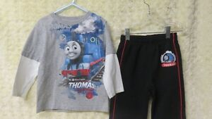 2 BOYS THOMAS & FRIENDS TOP & TRACKPANT SIZE 3 YRS