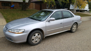 2002 Honda Accord with set of Winter Tires $3800.00 OBO
