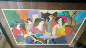 Patricia Goverensky Ladies cafe mon jardin