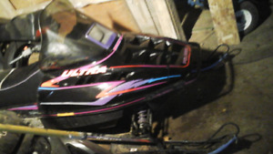 1997 polaris indy for sale have extra seat