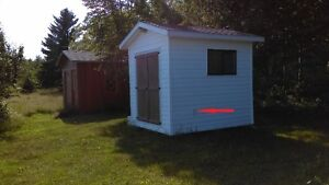 12 x 13 and 8 x 10 Storage Sheds