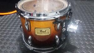 Pearl Maple Session Custom 10x8 vintage fade rack tom