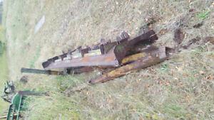 420 440 john deer cat blade an mount