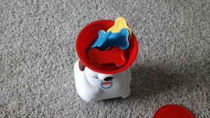 Dog with bons---- Fisher price