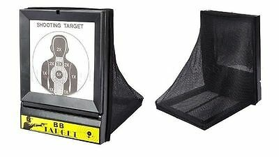 BB Gun Airsoft Target With Net Catcher BB Pellets Holder Air Sport Shooting New