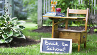 Back to School Photography Sessions!