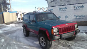 4.0 Jeep Cherokee 4x4 trade for something else