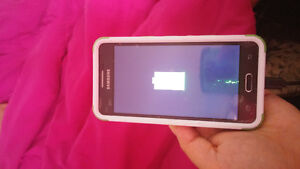Samsung galaxy prime with phone case