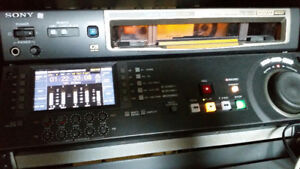 Sony HDCAM HDW-D1800 Professional Recorder-Player 'low hours'