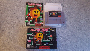 Ms Pac-Man  (Super Nintendo)