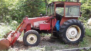 International Harvester Tractor with impliments