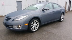 2011 Mazda6 LOW KMS Leather Back Up Camera Sunroof