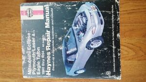 Haynes Repair Manual for 1990-1994 Eagle Talon