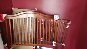 Change Table and 2 in 1 Crib