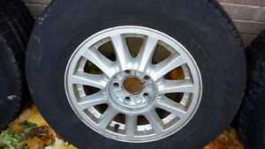 Windstar Rims with 215/70R15 All Season Tires