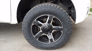 4 USED TOYO OPEN COUNTRY A/T II EXTREME TIRES 35X12.50R20LT
