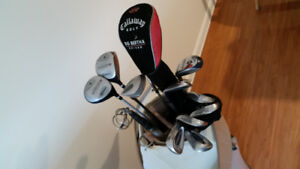 Sac de golf avec bâtons