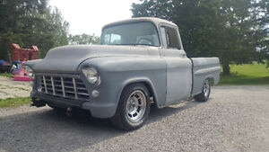 1955 Chevy Fleetside Pickup - Updated Suspension +