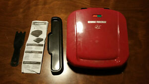 George Foreman Grill Removable griddles