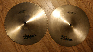 """14"""" Zildjian A Mastersound hats"""