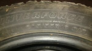 205/55/16 Winter Force tires