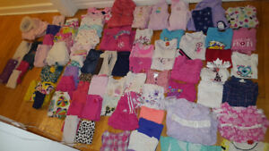 A whole wardrobe for girls 2T clothing