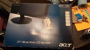 "Acer 23"" Wide Screen Monitor"
