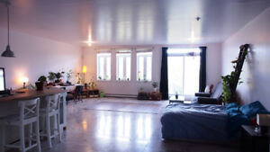 LOFT in MILE END to sublet - sous location / December Mars