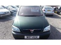 2000 Vauxhall Zafira 1.6 i 16v Comfort 5dr (a/c)