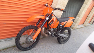 2006 KTM 250SX upgraded