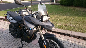 2009 BMW F800GS (110,000 KM) fully loaded with tons of upgrade