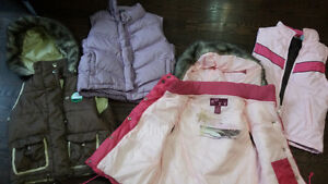 gap down vest XL 12 roxy S and M pink 12 Cambridge Kitchener Area image 1