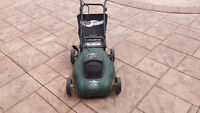 Yardworks Electric Mower 8A/14inch with bag