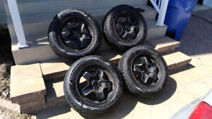 Winter Tires 215/60R16  with original GM rims and wheel covers